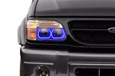 1995-2001 Ford Explorer Profile Prism Fitted Halos (RGB)