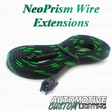 NeoPrism Wire Extension Male/Female 3 Pin JST Connector  – Priced as each