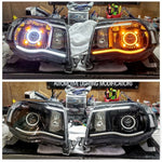 2005-2011 Toyota Tacoma Projector Retrofitted Headlights