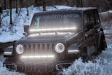 HD LED Halos for 2018-2019 Jeep JL Wrangler (pair)