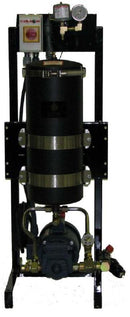 Harvard Stationary Oil Filtration System Single Housing 5 GPM - RelaWorks