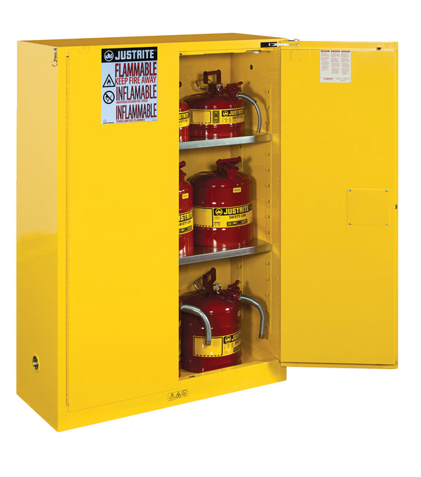 Justrite Flammable Safety Cabinet, 45 Gallon-RelaWorks