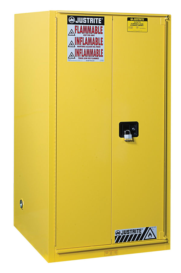 Justrite Flammable Safety Cabinet, 60 Gallon-RelaWorks