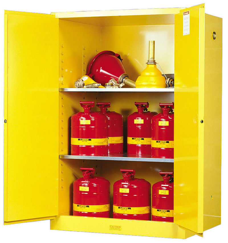 Justrite Flammable Safety Cabinet, 90 Gallon-RelaWorks