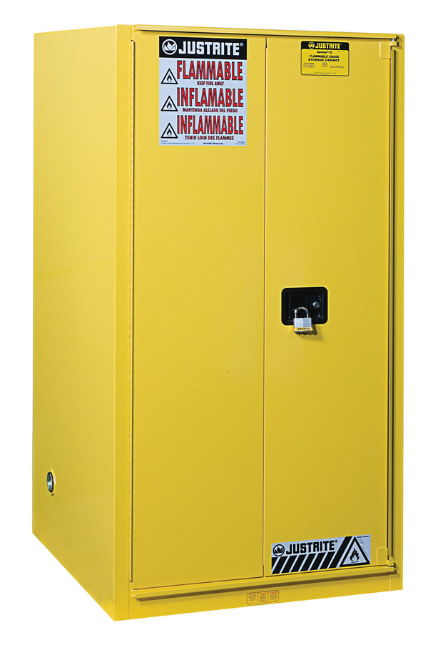 Justrite Flammable Safety Cabinet. 90 Gallon-RelaWorks