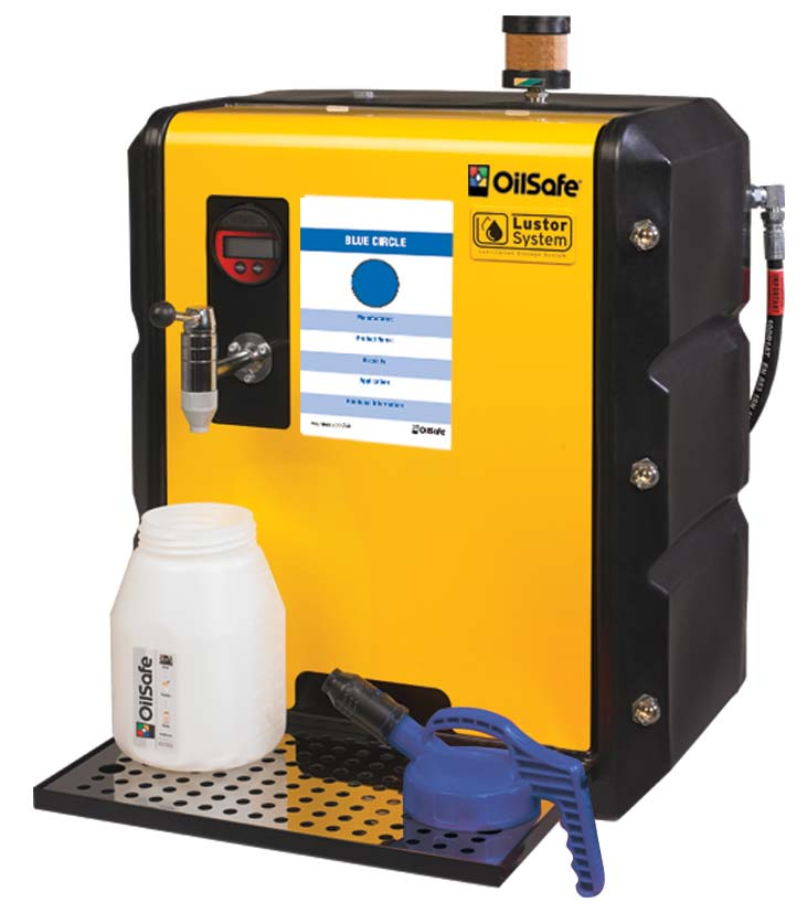Lustor 65 Gallon Oil Storage, Filtration and Dispensing System