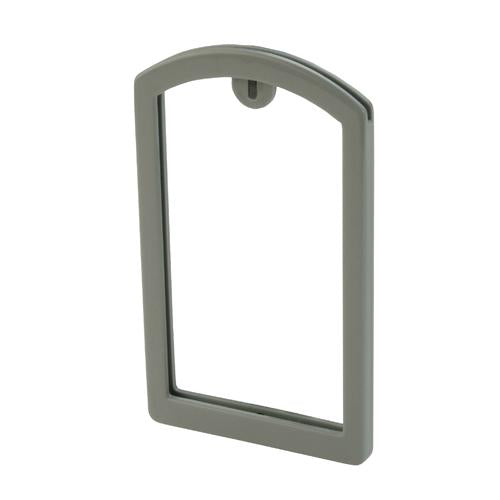 OilSafe Gray ID Label Pocket Frame - 200004 - RelaWorks
