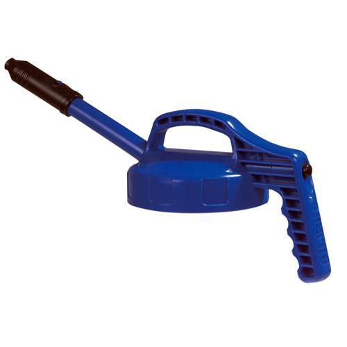OilSafe Blue Stretch Spout Lid - 100302 - RelaWorks
