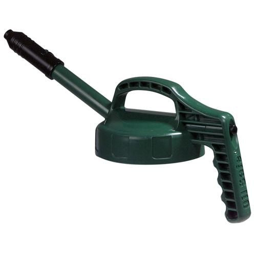 OilSafe Dark Green Stretch Spout Lid - 100303 - RelaWorks