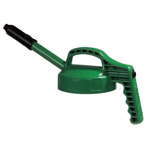 OilSafe Mid Green Stretch Spout Lid - 100305 - RelaWorks