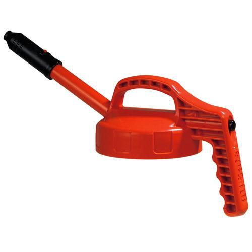 OilSafe Orange Stretch Spout Lid - 100306 - RelaWorks