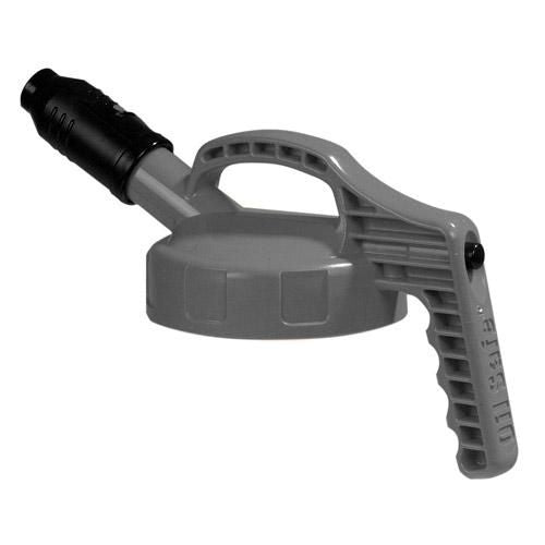 OilSafe Gray Stumpy (Wide) Spout Lid - 100504 - RelaWorks