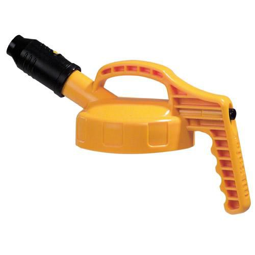 OilSafe Yellow Stumpy (Wide) Spout Lid - 100509 - RelaWorks