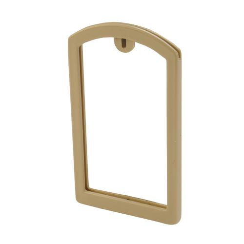 OilSafe Beige ID Label Pocket Frame - 200000 - RelaWorks