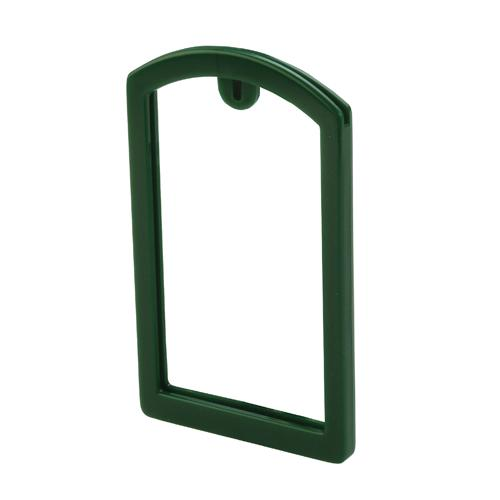 OilSafe Dark Green ID Label Pocket Frame - 200003 - RelaWorks