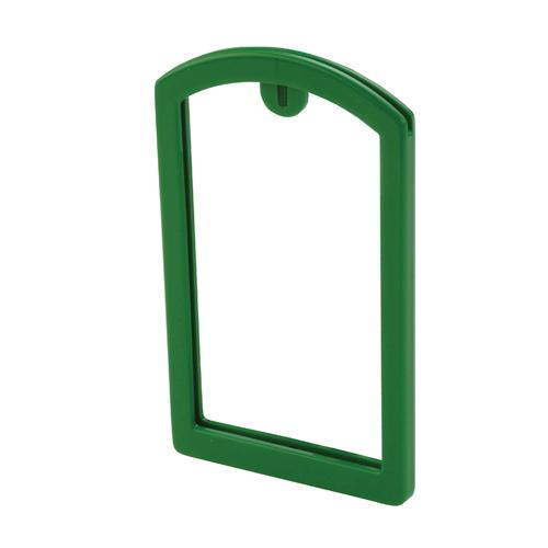 OilSafe Mid Green ID Label Pocket Frame - 200005 - RelaWorks