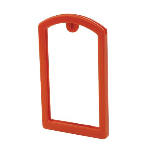 OilSafe Orange ID Label Pocket Frame - 200006 - RelaWorks