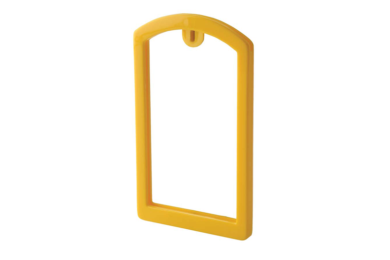 OilSafe Yellow ID Label Pocket Frame - 200009 - RelaWorks