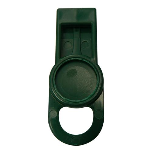 OilSafe Dark Green Fill Point ID Washer Tab - 205503 - RelaWorks