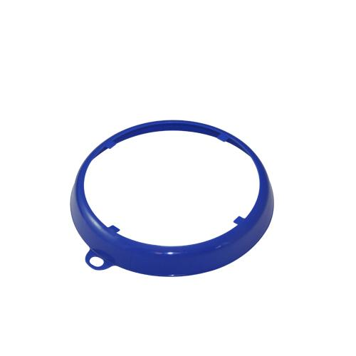 OilSafe Blue Beveled Drum Container ID Ring - 207002 - RelaWorks