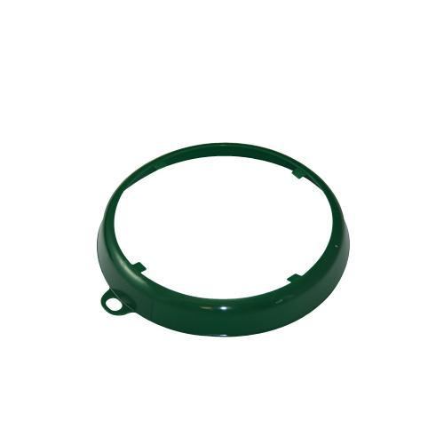 OilSafe Dark Green Beveled Drum Container ID Ring - 207003 - RelaWorks