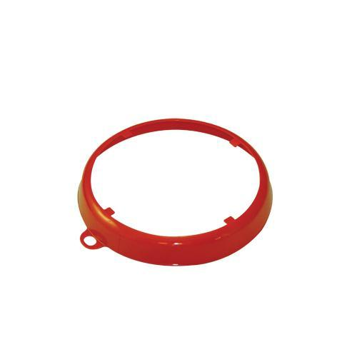 OilSafe Orange Beveled Drum Container ID Ring - 207006 - RelaWorks