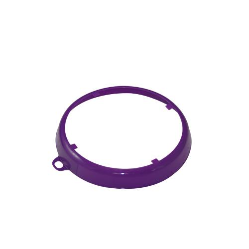 OilSafe Purple Beveled Drum Container ID Ring - 207007 - RelaWorks
