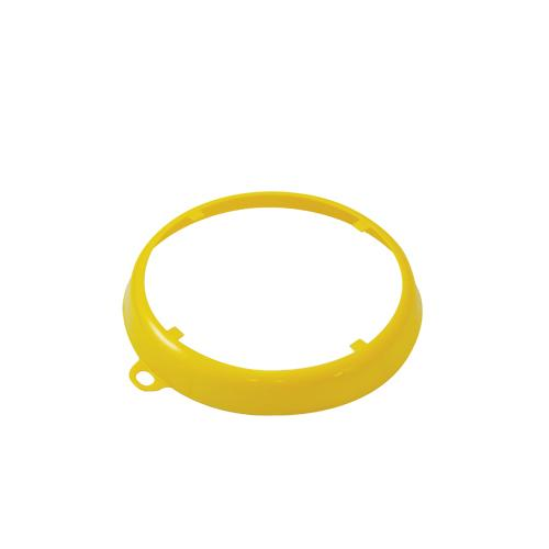 OilSafe Yellow Beveled Drum Container ID Ring - 207009 - RelaWorks