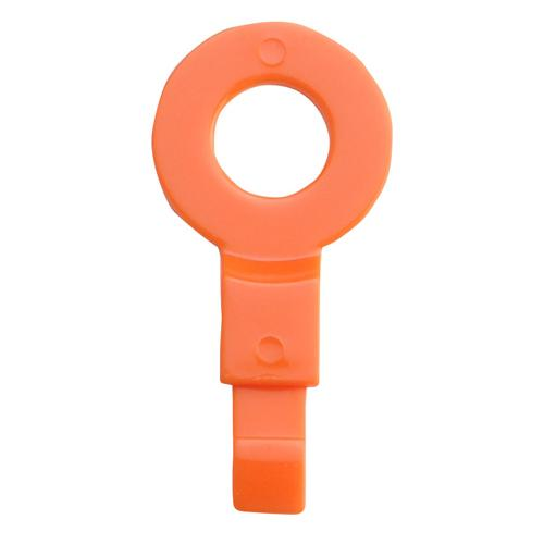 "OilSafe Orange Fill Point ID Washer 1/4"" BSP - 220006 - RelaWorks"