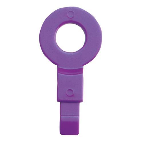 "OilSafe Purple Fill Point ID Washer 1/4"" BSP - 220007 - RelaWorks"