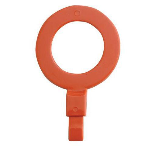 "OilSafe Red Fill Point ID Washer 1"" BSP - 260008 - RelaWorks"