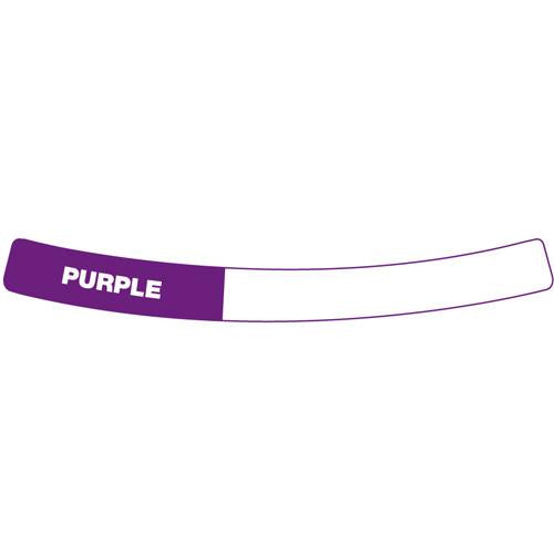 OilSafe Purple Drum Container ID Ring Label, Adhesive Paper 282407 - RelaWorks