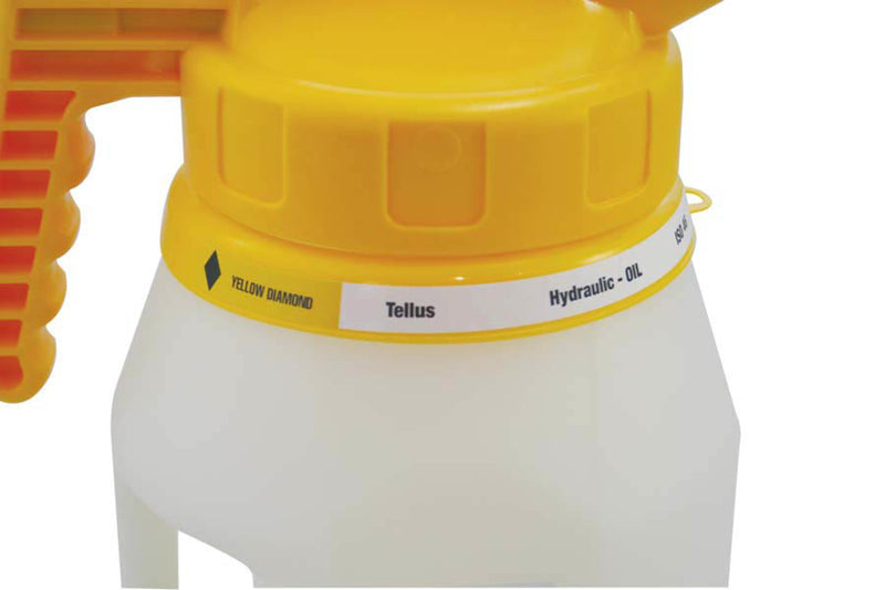 282409 OilSafe Drum Container ID Ring Label Adhesive Paper