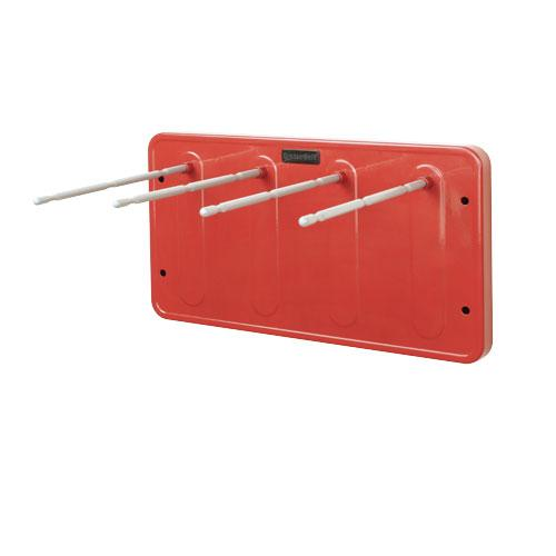 OilSafe Red Grease Cartridge Rack - 300208