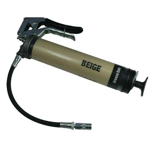 OilSafe Beige Pistol Grip Grease Gun - 330700 - RelaWorks
