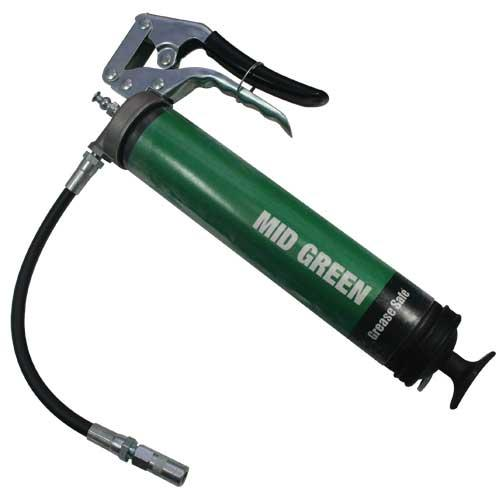 OilSafe Mid Green Pistol Grip Grease Gun - 330705 - RelaWorks