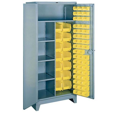 OilSafe Storage Cabinet, Medium, 48 Small Bins, 6 Large Bins - 930005 - RelaWorks