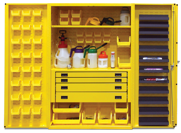 OilSafe Workshop Service Cabinet, 4 Drawers, Work Table - 930020 - RelaWorks