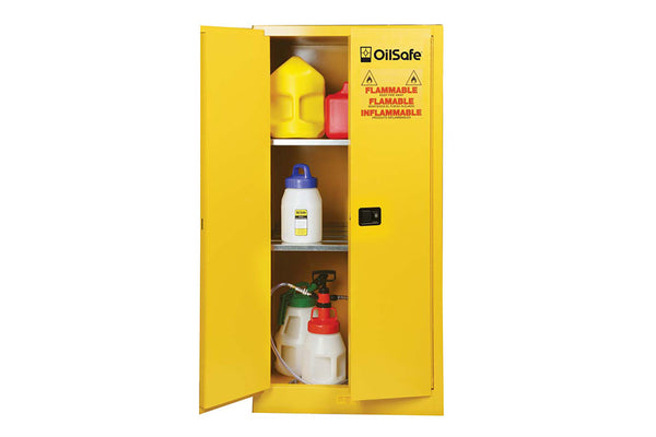 "OilSafe Safety Cabinet Manual 2-Door, 43"" x 18"" x 44"" - 930500"