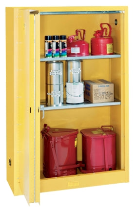 "OilSafe Safety Cabinet Manual 2-Door, 34"" x 34"" x 65"" - 930520 - RelaWorks"