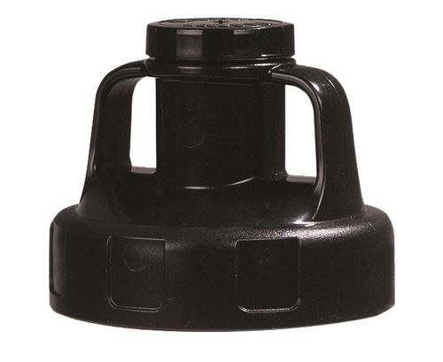 OilSafe Black Utility (Multi Purpose) Lid - 100201 - RelaWorks