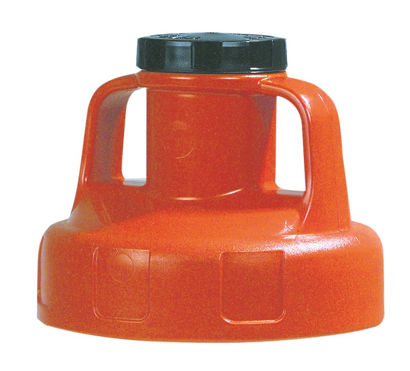 OilSafe Orange Utility (Multi Purpose) Lid - 100206 - RelaWorks