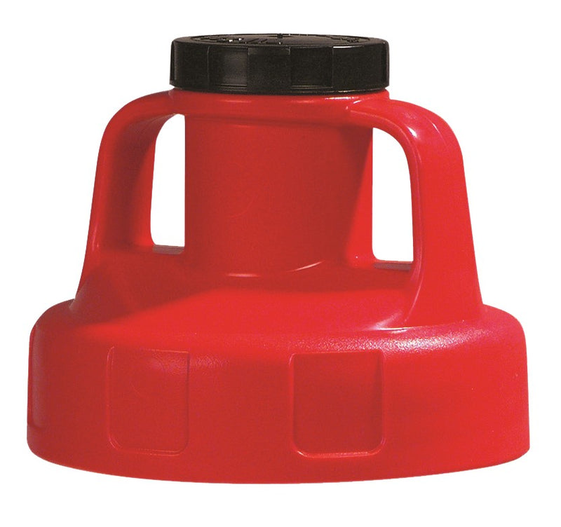 OilSafe Red Utility (Multi Purpose) Lid - 100208 - RelaWorks