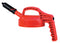 OilSafe Orange Mini Spout Lid - 100406 - RelaWorks