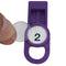 OilSafe Purple Fill Point ID Washer Tab - 205507 - RelaWorks