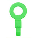 "OilSafe Fill Point ID Washer 3/8"" - 23005, Mid Green, RelaWorks"