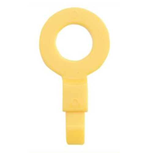 "OilSafe Fill Point ID Washer 3/8"" - 230009, Yellow, RelaWorks"