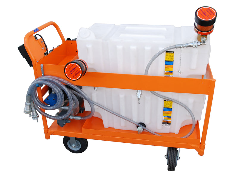 Y2K Filtration Oil Storage Cart, 32 Gal, 5 GPM