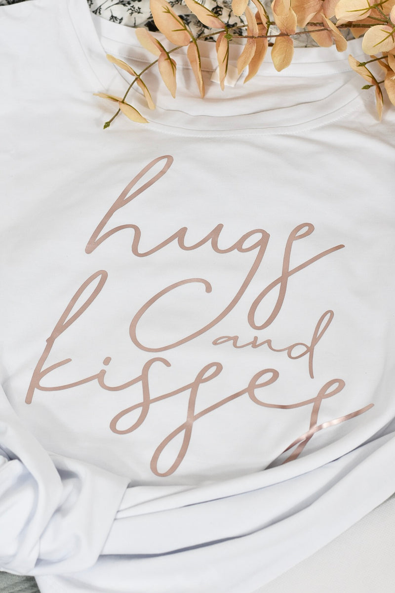 Hugs & kisses + xoxo (adult + baby sizes)