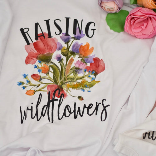 Raising wildflowers + little wildflower (Adult and baby size)